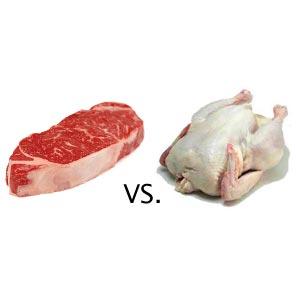 Свинина проигрывает мировую конкуренцию мясу птицы